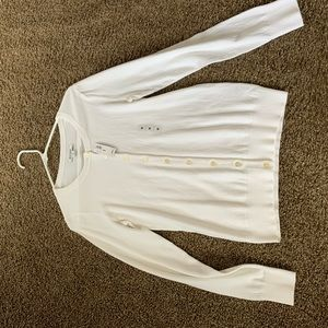 Old Navy white cardigan. Brand new with tags